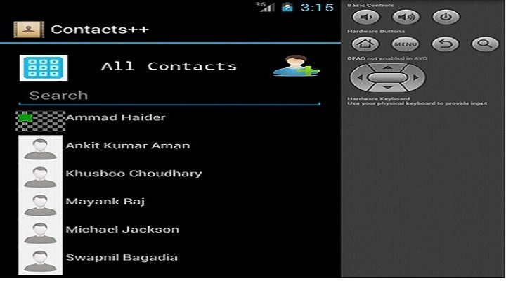 Contacts++ (An Android Application for customizing contacts & records management)